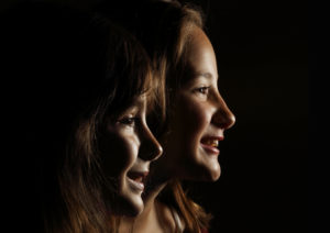 fun portrait of sisters #realpeoplerealmoments Photo by Jud McCrehin Photography