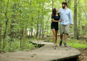 Outdoor Engagement session #realpeoplerealmoments Photo by Jud McCrehin Photography