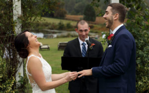 Walden Hall wedding ceremony#realpeoplerealmoments Photo by Jud McCrehin Photography