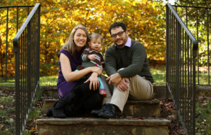 Outdoor family portrait #realpeoplerealmoments Photo by Jud McCrehin Photography
