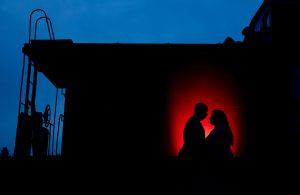 Outdoor Engagement Portrait in Warrenton, Va.